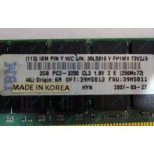 IBM 39M5811 39M5812 2Gb (2048Mb) DDR2 ECC Reg memory (Оренбург)