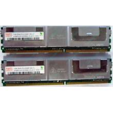 Серверная память 1024Mb (1Gb) DDR2 ECC FB Hynix PC2-5300F (Оренбург)