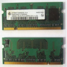 Модуль памяти для ноутбуков 256MB DDR2 SODIMM PC3200 (Оренбург)