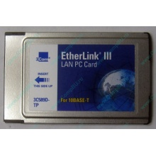 Сетевая карта 3COM Etherlink III 3C589D-TP (PCMCIA) без LAN кабеля (без хвоста) - Оренбург